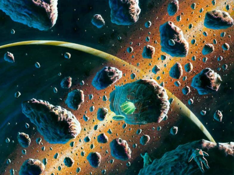 Fremdes Raumschiff
