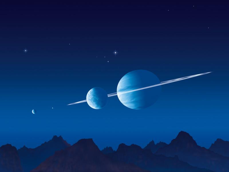 Blaue Welt - Digitale Version