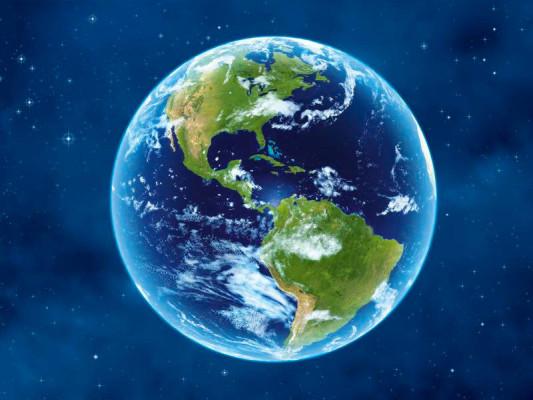 Erde Globus Amerika