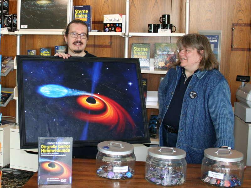 Frau Prof. Dr. Susanne Hüttemeister und ich