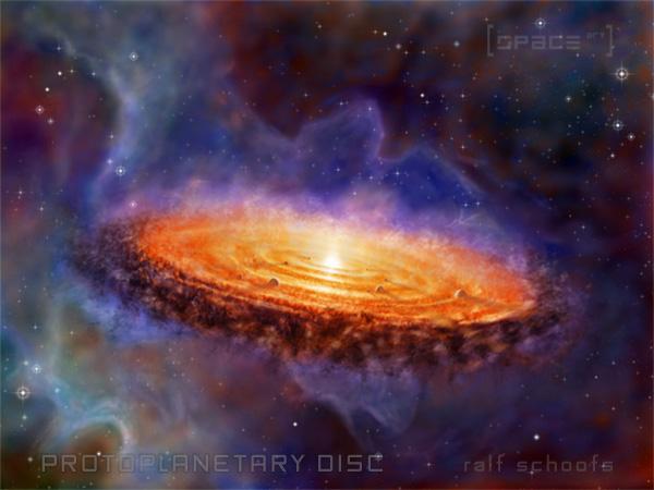 Protoplanetar Scheibe