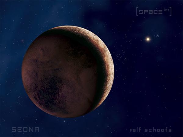 Der Kleinplanet Sedna.