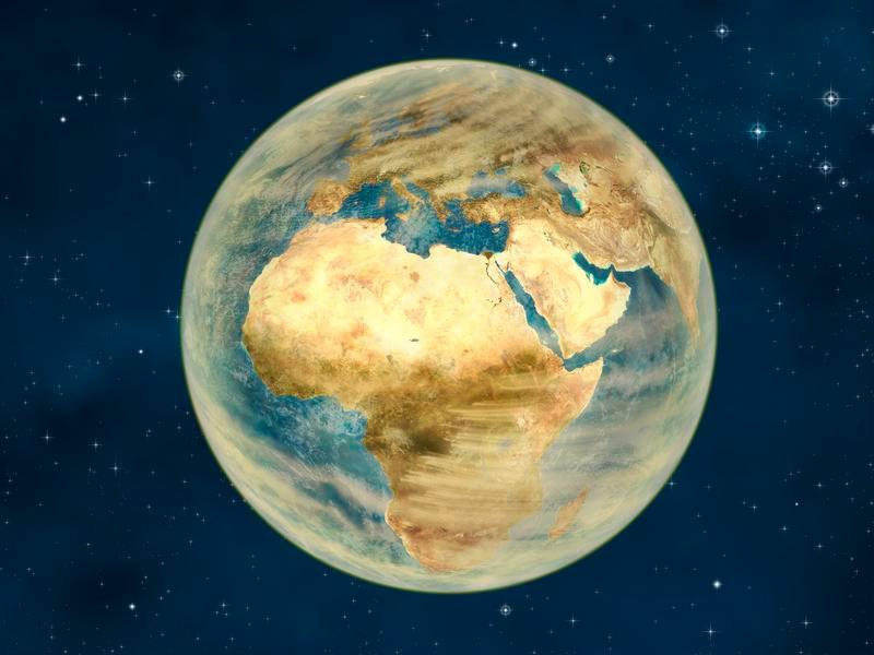 Sterbende Erde