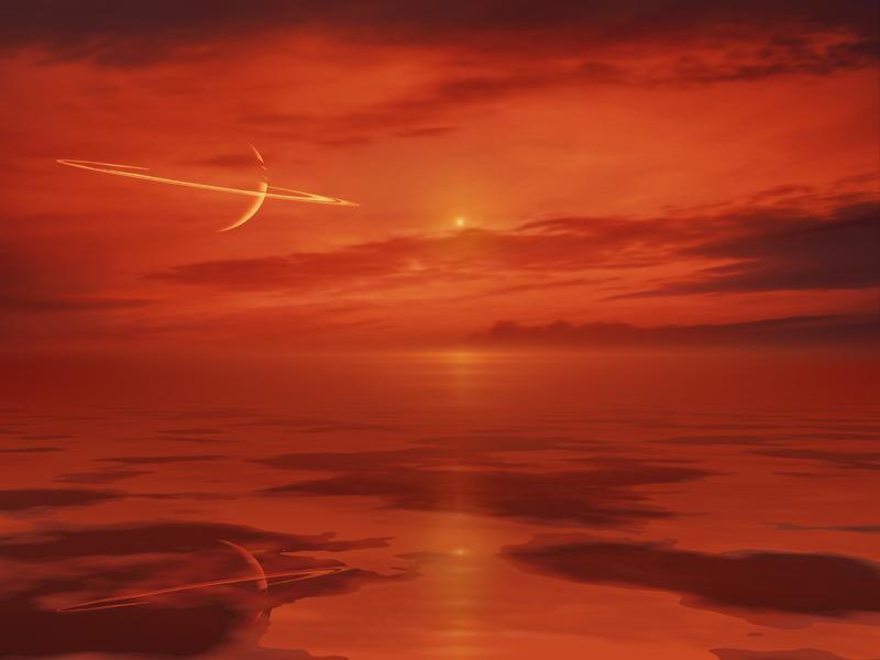 Titan Landschaft