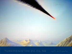Turkmenistan Meteorit