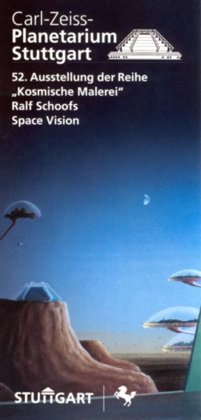 Flyer Ausstellung Planetarium Stuttgart 1997
