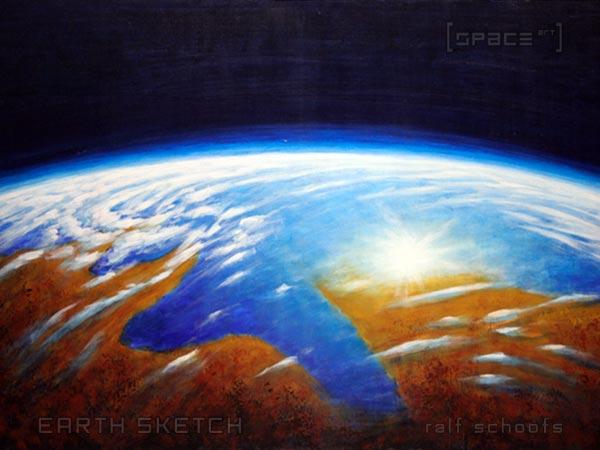 Farbskizze Erde
