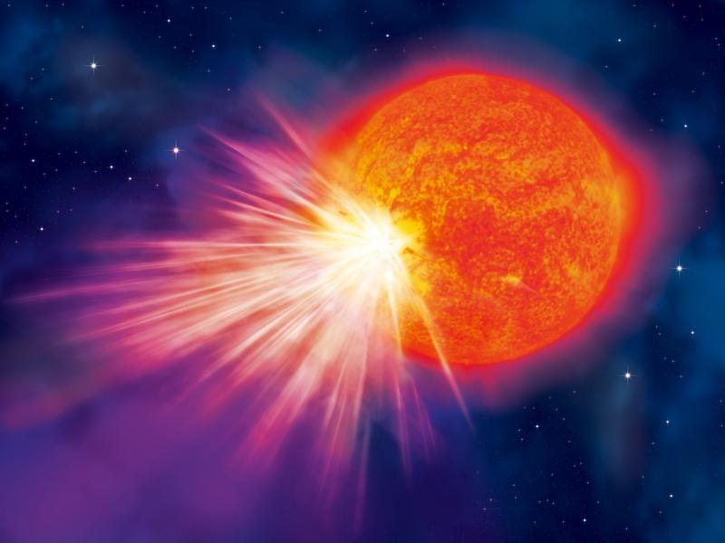 Proxima Eruption