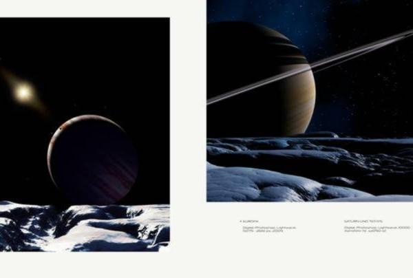 Ralf Schoofs SPACE ART Buch, Seite 82-83