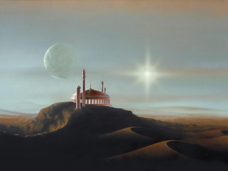 Palast in der Wüste