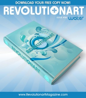 Revolutionart issue 36 poster