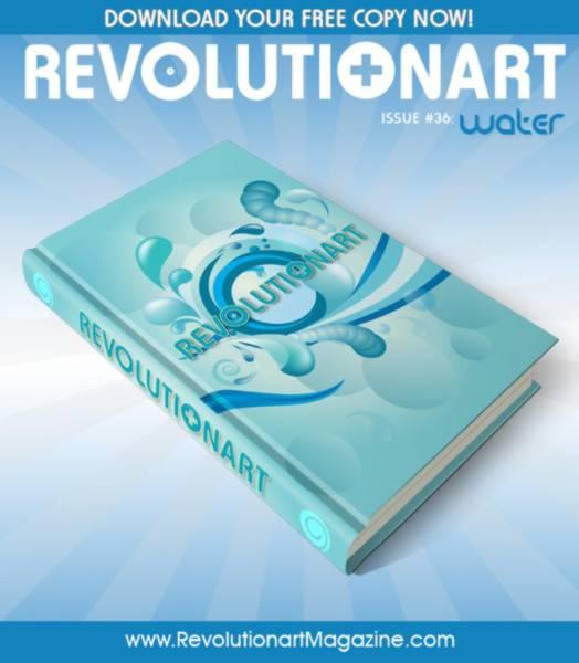 Revolutionart issue 36 poster