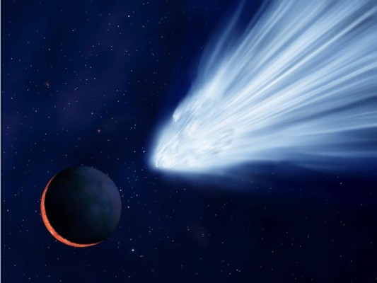 Wahrscheinlichkeit eines Einschlages auf dem Mars