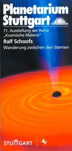 Das Titelbild des Info-Flyers zu meiner Ausstellung 2003 im Planetarium Stuttgart.