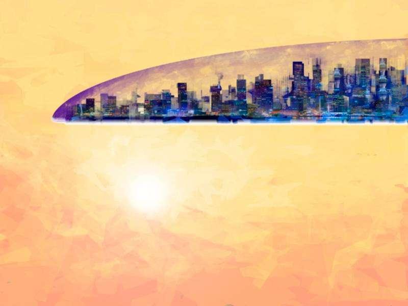 Speedpainting Dome-City