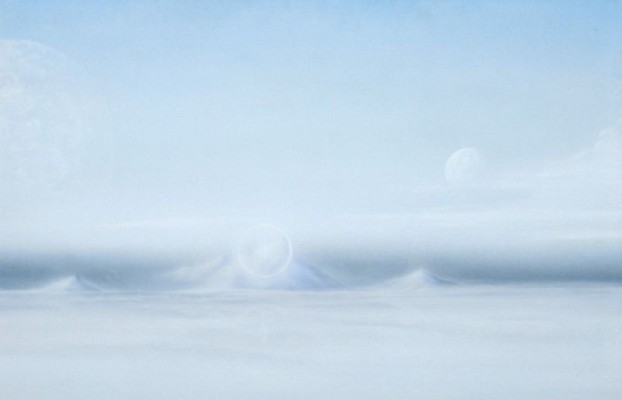 Frühwerk Nr. 14 - Eislandschaft