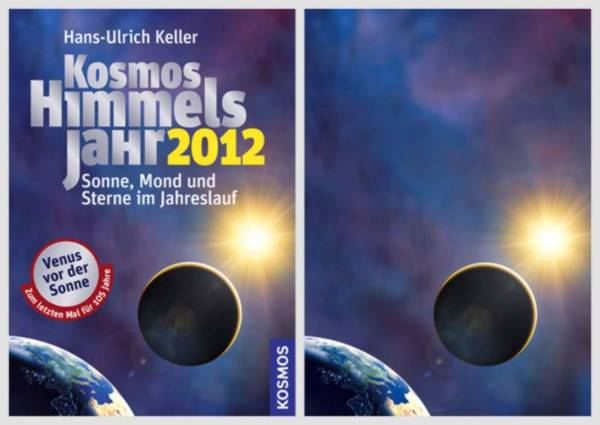 Compare the cover of Kosmos Himmelsjahr 2012