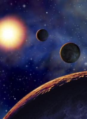 """Die farbige Version meines Space-Art Bildes für den Perry Rhodan Report in Band 2704 """"Die Rückkehr der JULES VERNE"""""""