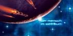 """Ralf Schoofs SPACE ART Buch, Kapitel """"Der Mensch im Weltraum"""", Seite 30-31"""