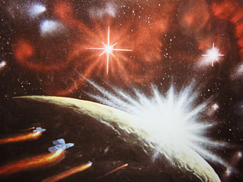 Unter fremden Sternen Version 0.1