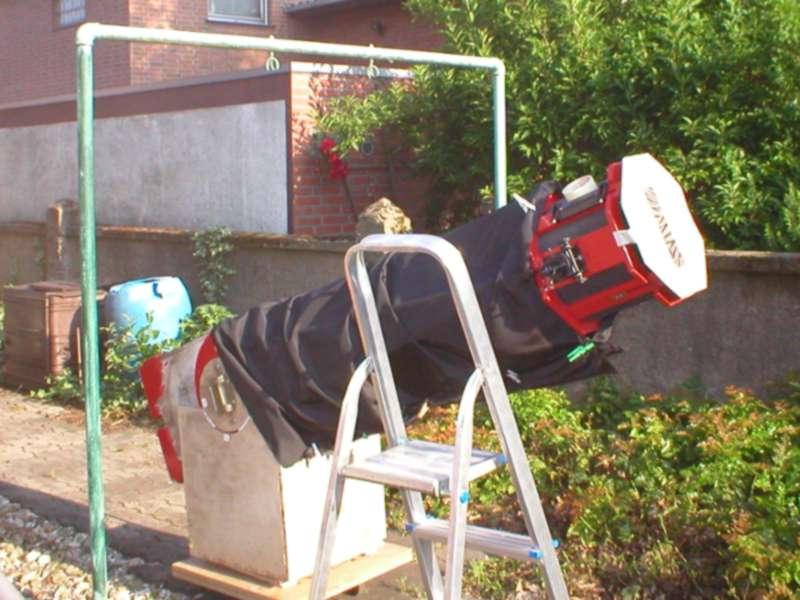 Mein selbstgebauter Dobson am 8. Juni 2004