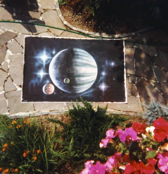 Erstes Airbrush Bild