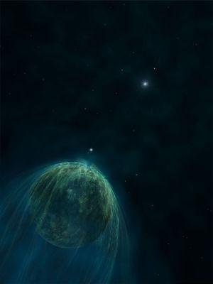 Planet b des Pulsars PSR 1257+12