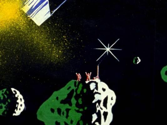 Die Rettung von zwei Astronauten