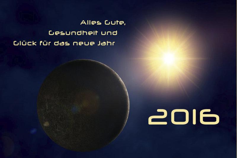 Neujahrsgruss 2016