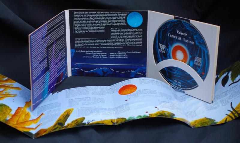 Umfangreich ausgestattete Musik CD 'Empire of Illusions' von Palantir.