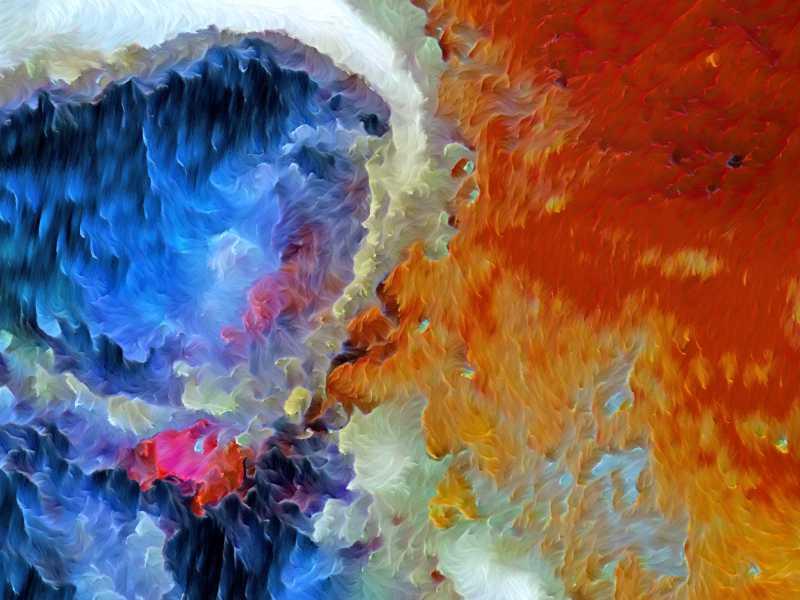 Mensch auf dem Mars, digitale Version, Detailansicht 2.