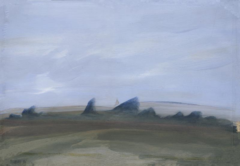 Speedpainting Dark Hills