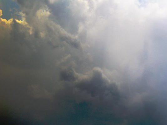 Wolken digital bearbeitet