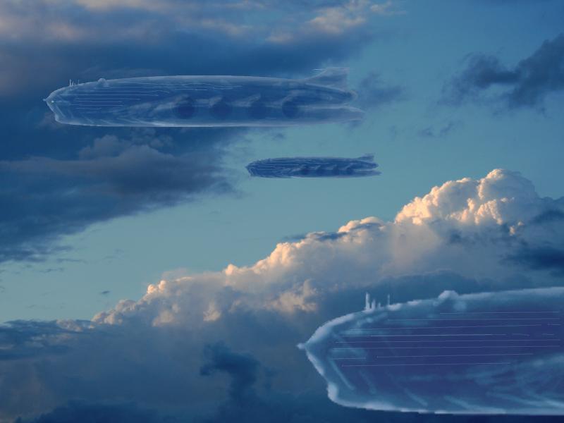concept art für die Wolkenreise