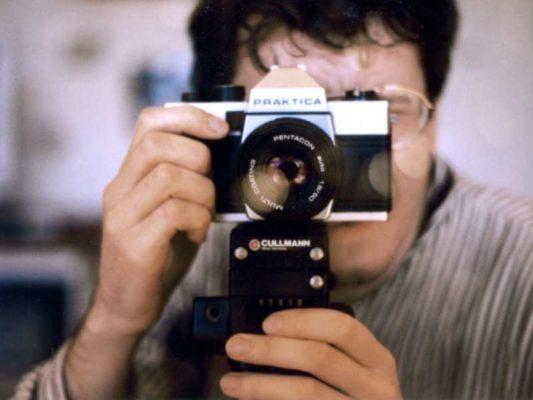 Selbstportrait mit Fotoapparat