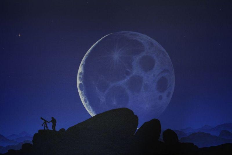 Fremder Mond