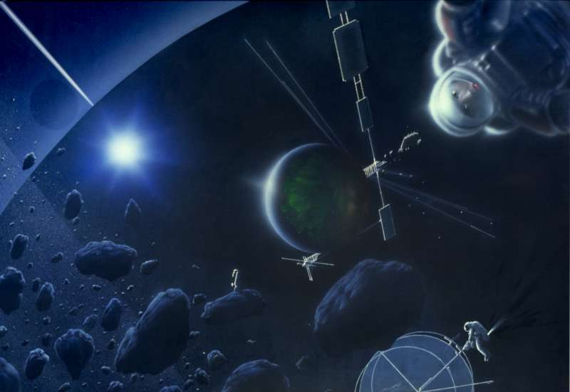 Surrealismus im Weltraum