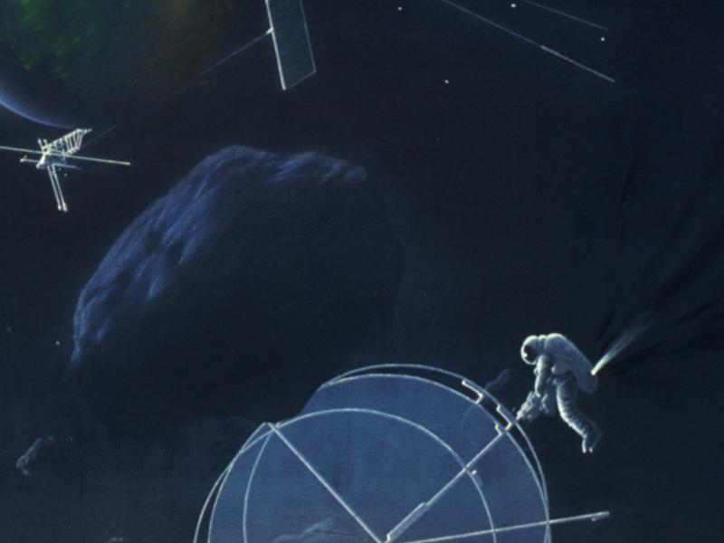 Surrealismus im Weltraum, Detail
