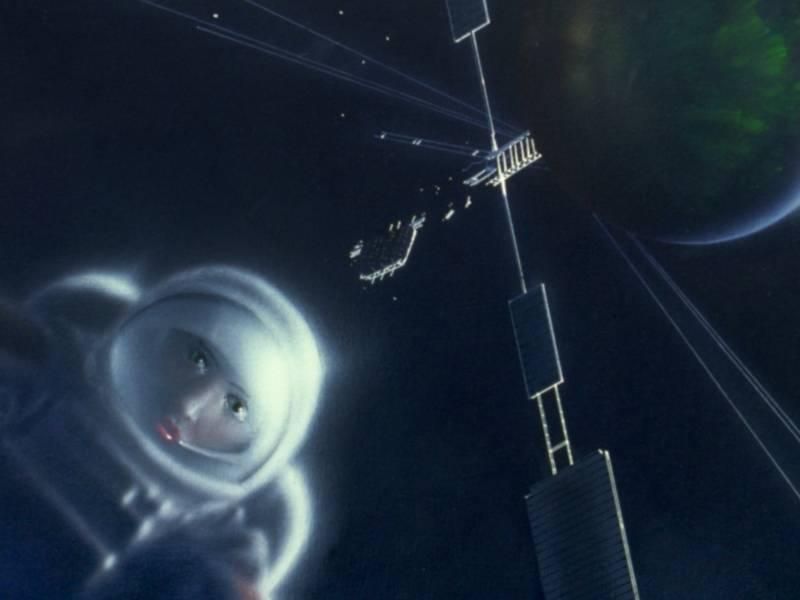 Surrealismus im Weltraum, zweiter Ausschnitt