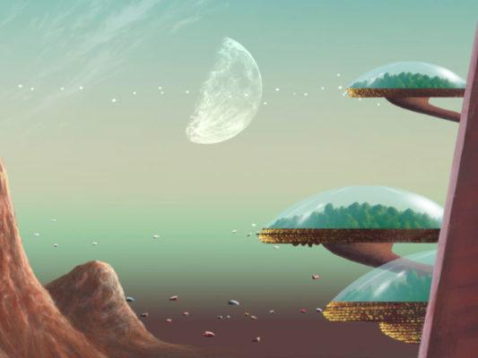 Bildausschnitt Treibhaus Erde