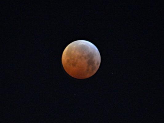 Mondfinsternis vom 21.01.2019 um 6 Uhr 30!