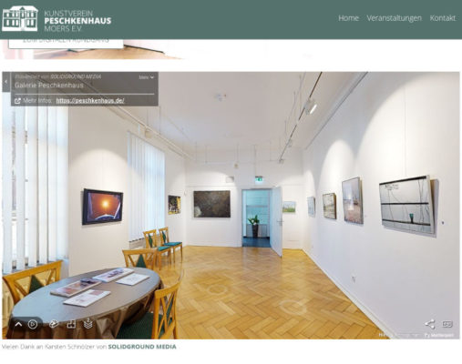 Virtuelle Galerie Peschkenhaus in Moers Bild 1