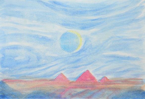 Die glühenden Berge